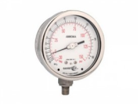 "GTG40 Series 4""/100mm Stainless Steel Pressure Gauges"